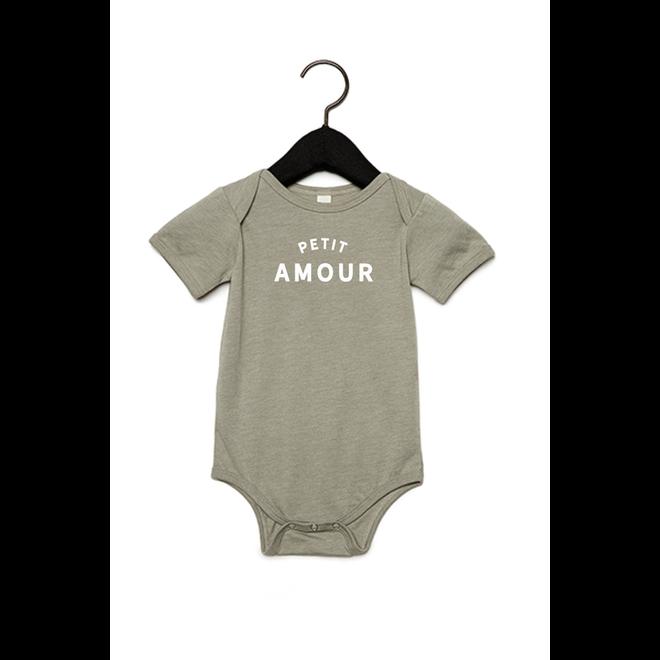 Joh Clothing - Petit amour baby (White) - Baby's Body