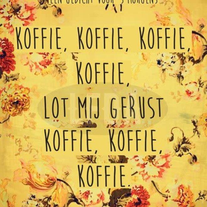 postkaart koffie