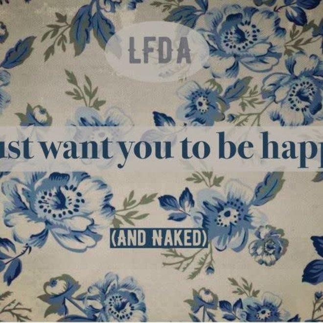 Postkaart Naked