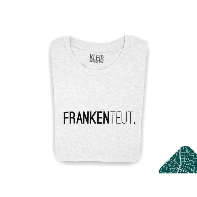 Frankenteut. - t-shirt  lichtgrijs - vrouwen