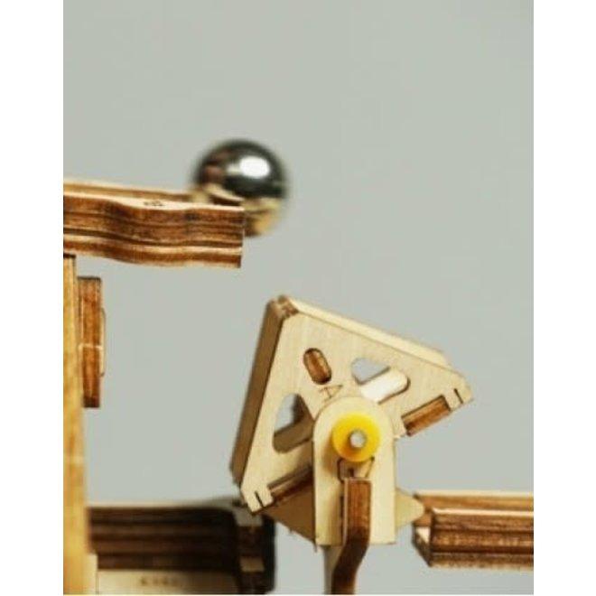 Knikkerbaan - Marble Run Waterwheel Coaster
