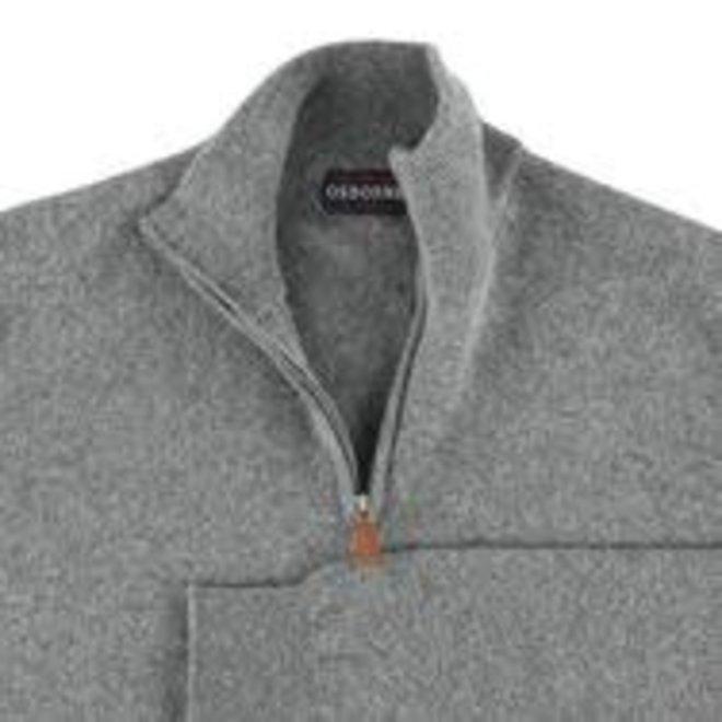 Osborn - Men lambswool short zip