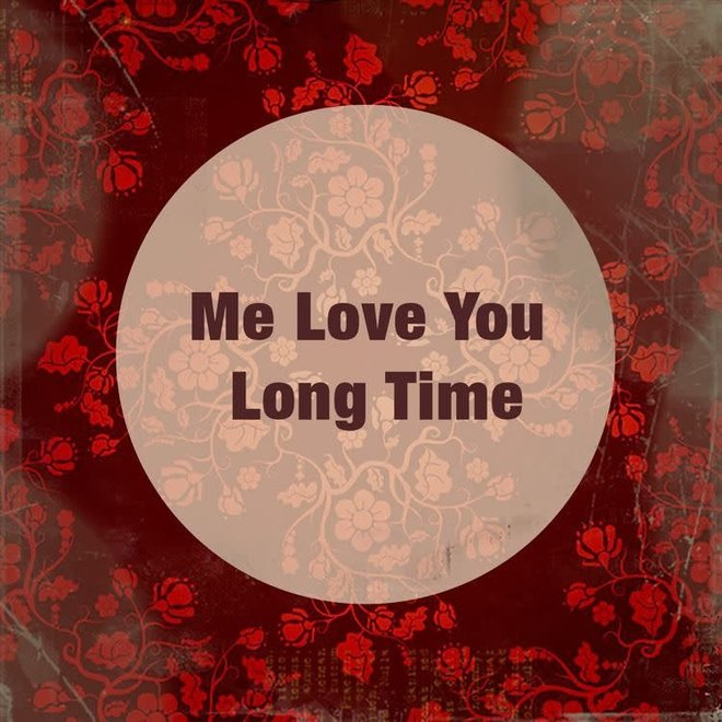 Houten Bordje Love You Long Time