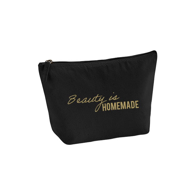 beauty is homemade - make-up tas