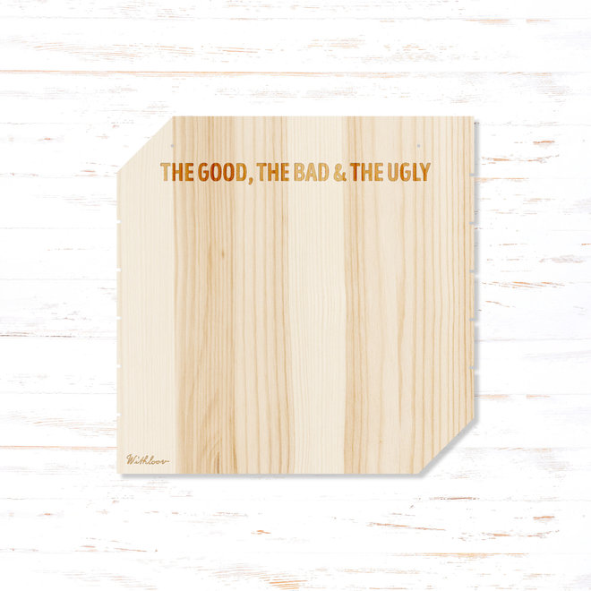 Memory board vierkant - the good the bad & the ugly