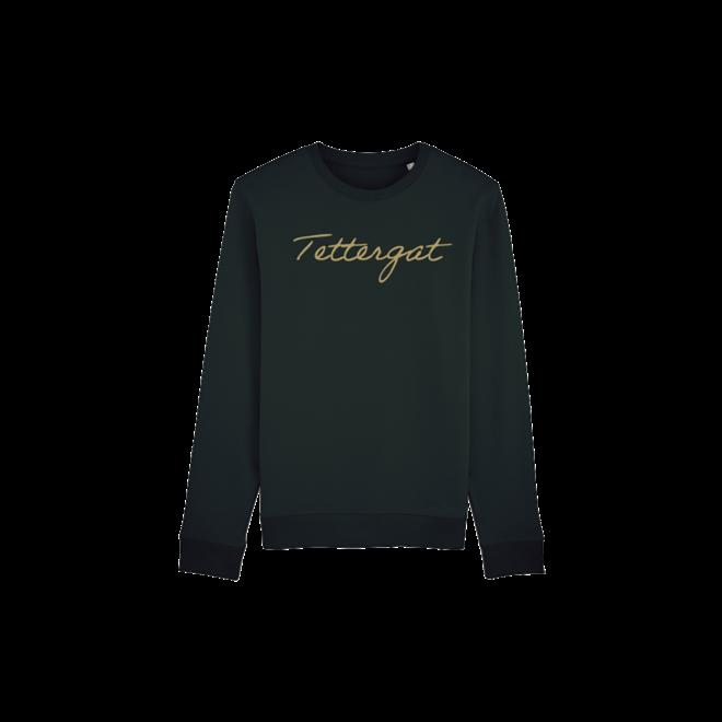 Tettergat - zwarte trui met goud -  Kids