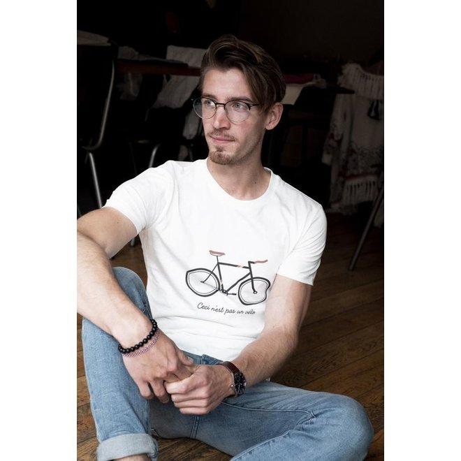 ceci n'est pas un vélo - t shirt