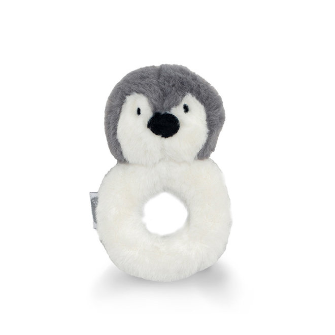 Jollein: rammelaar pinguin storm grey