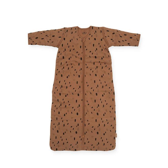Jollein: 90cm slaapzak met afritsbare mouwen: spoted camel