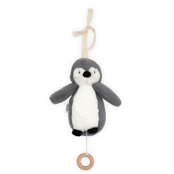 Jollein: musical hanger pinguin storm grey
