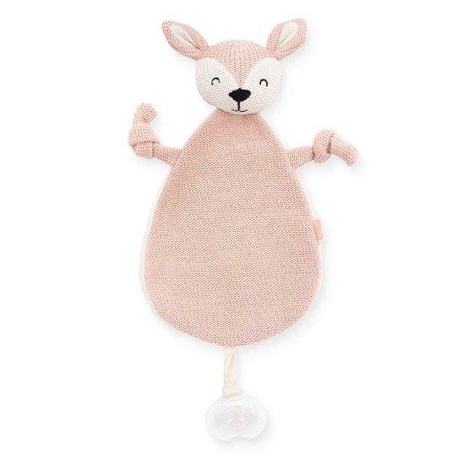 Jollein: Knuffeldoekje Deer pink