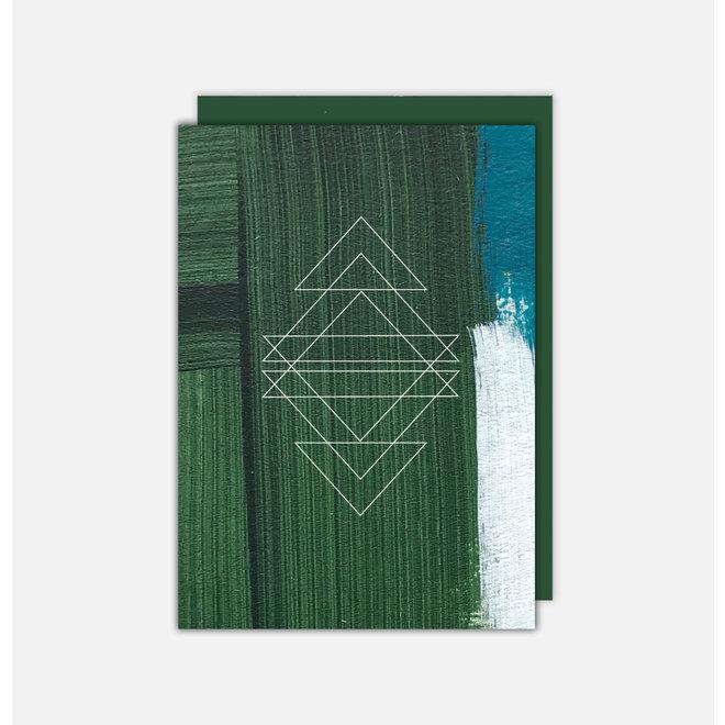 JOLLY GREEN 02 - Christmas card