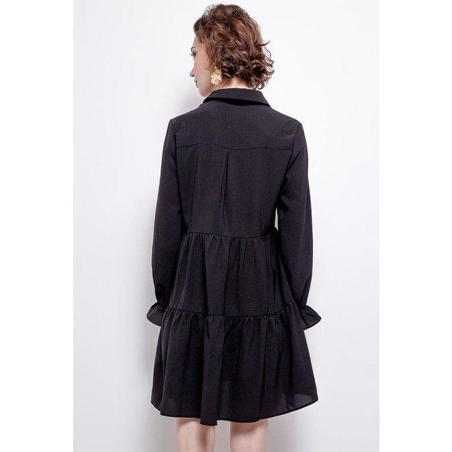Kleedje kort zwart