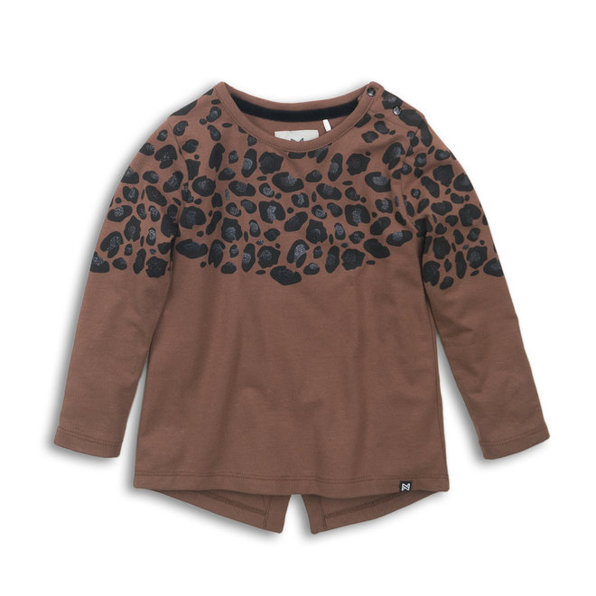 Koko Noko: Longsleeve leopard bruin
