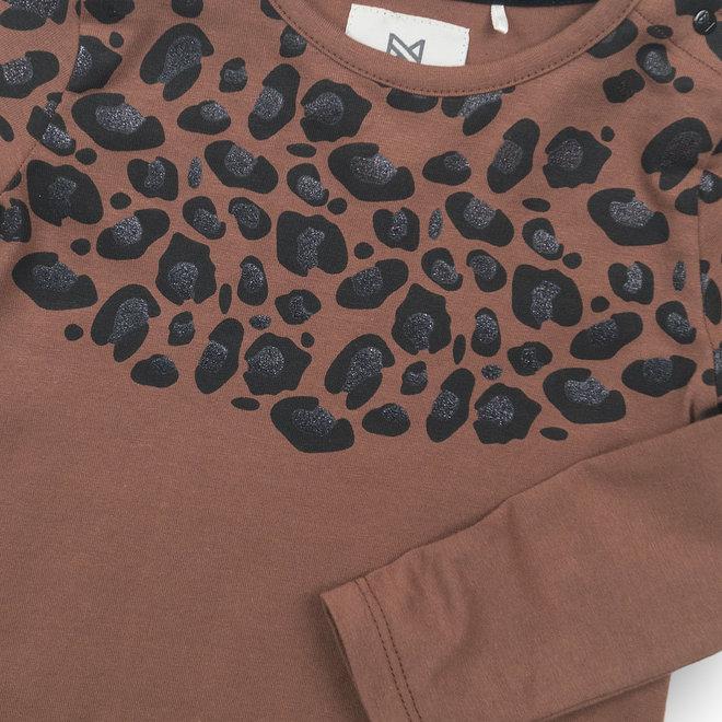 Koko Noko: shirt leopard bruin