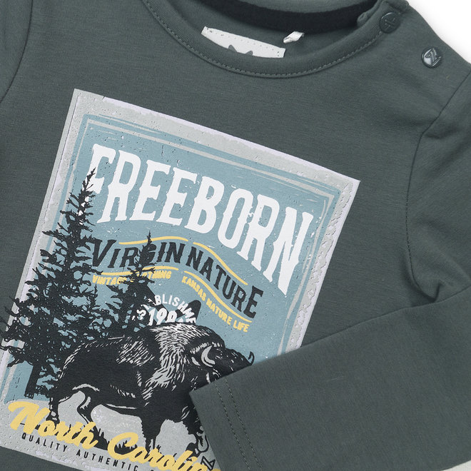 """Koko Noko: shirt """"freeborn"""""""