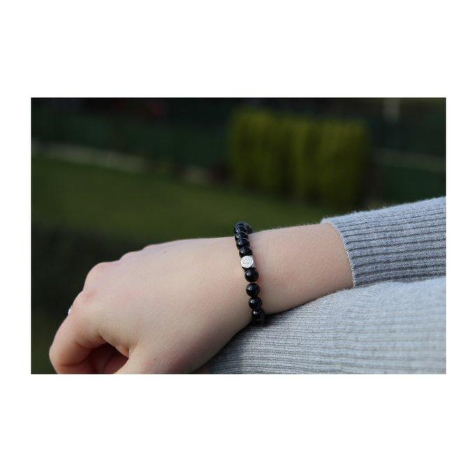 Onyx Armband 6mm