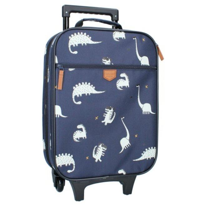 Kidzroom: koffer draakje blauw