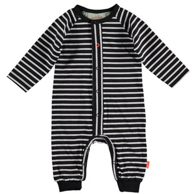 Bess: suit striped anthracite