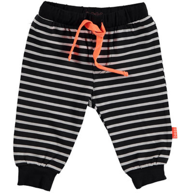 Bess: pants striped anthracite