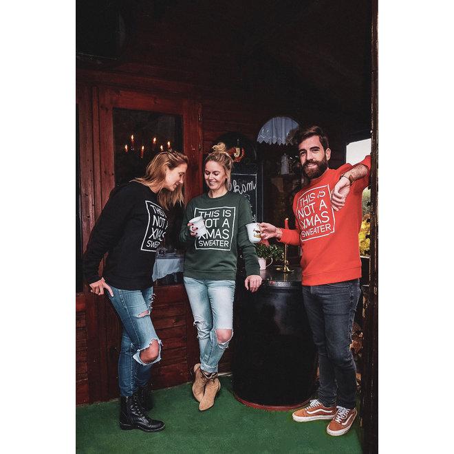 Kersttrui groen - not a Xmas sweater