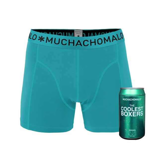 Men 1-pack short aqua