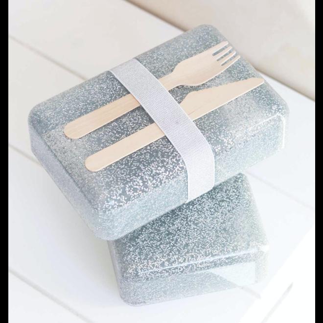 LLC:brooddoos glitter silver