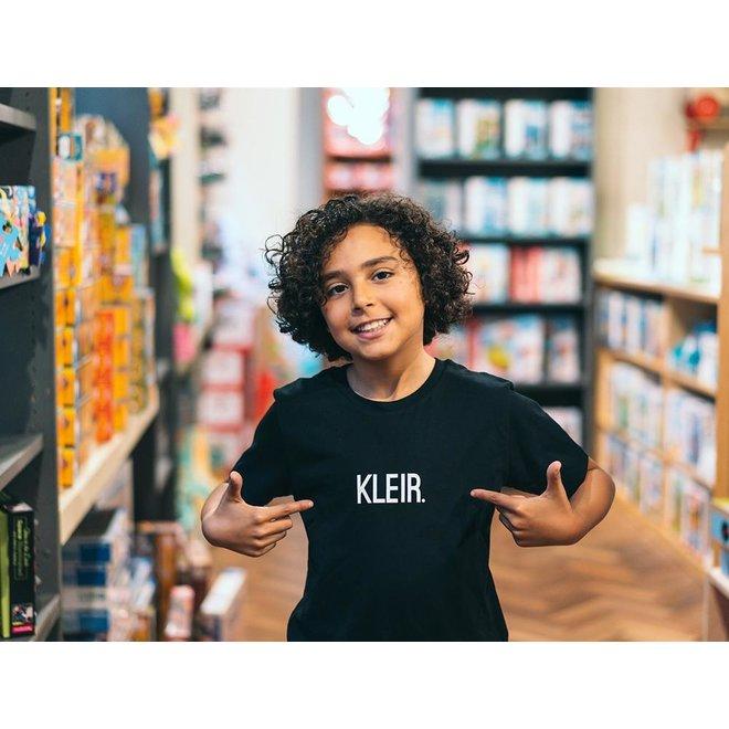 Kleir. - t-shirt zwart