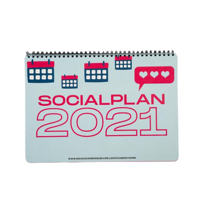 Socialplan 2021, dé planner voor jouw sociale media kanalen