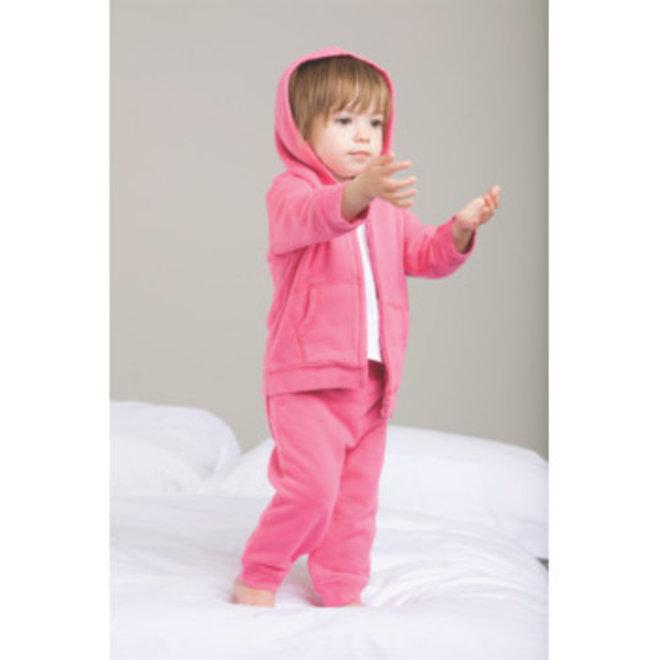 Roze baby hoodie