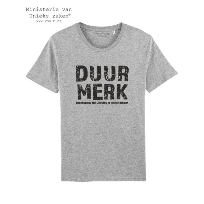 T-shirt unisex - Duur Merk Approved by …