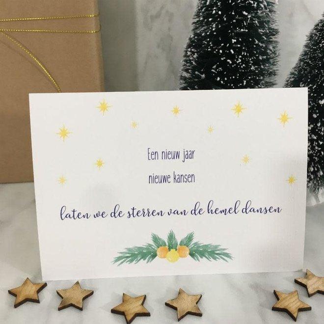 Studijoke - een nieuw jaar - kerstkaart