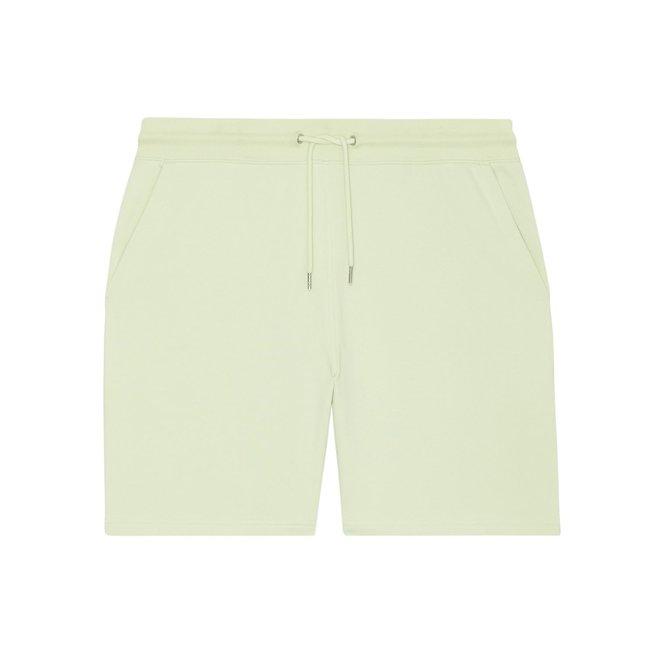 Jogger short pastel groen