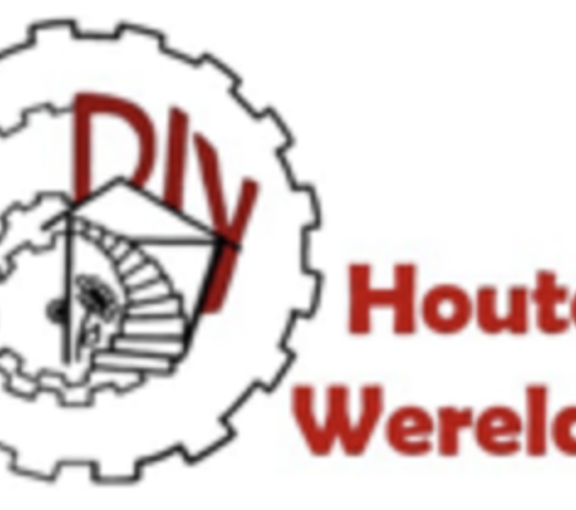 DIY houten wereld - hours of crafting fun for young and old