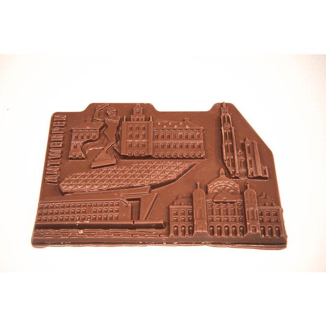 Creatieve tablet Belgische melkchocolade (135 g) Antwerpen-city