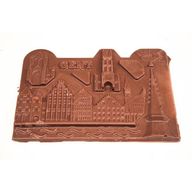 Creatieve tablet Belgische melkchocolade (135 g) Gent