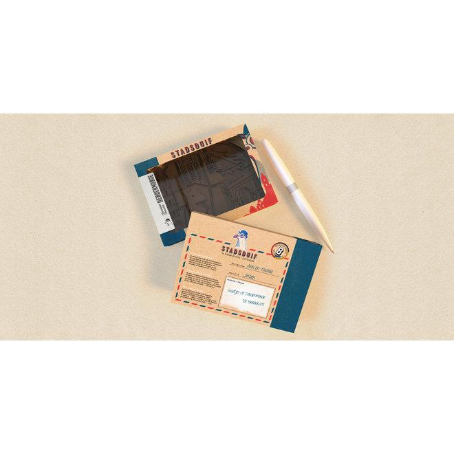 Creatieve tablet Belgische melkchocolade (135 gr) Dendermondse