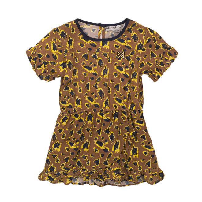 Koko Noko: Leopard kleed camel-geel