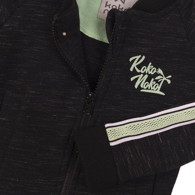 Koko Noko: vest black melee