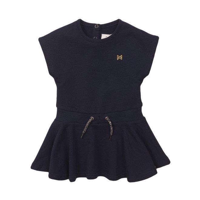 Koko Noko: kleedje navy goud detail