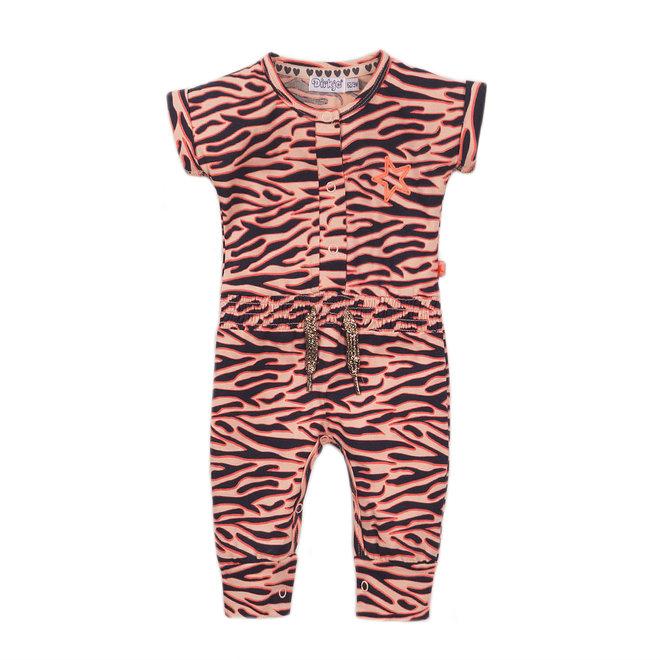 Dirkje: neon onsie zebra