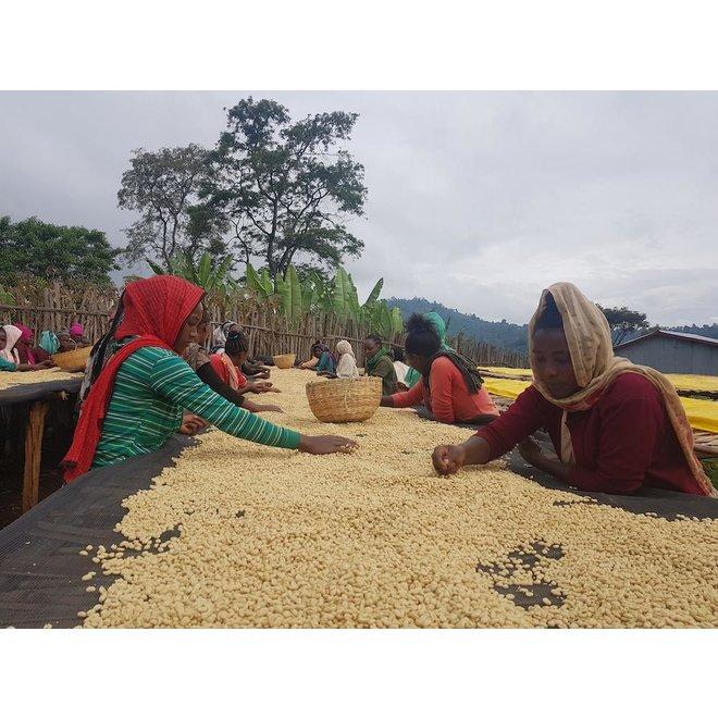 Ethiopia - Samii Nensebo (organic) 230G - FILTER - GEMALEN