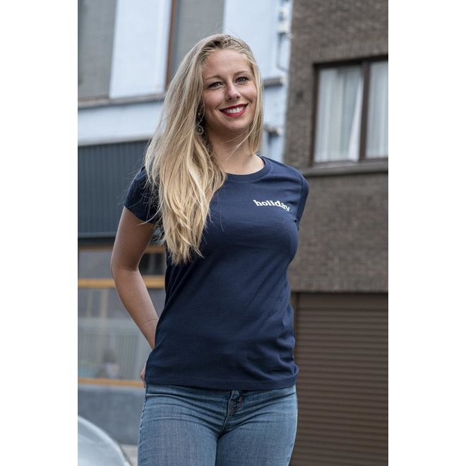 Holiday - Women T Shirt French Navy