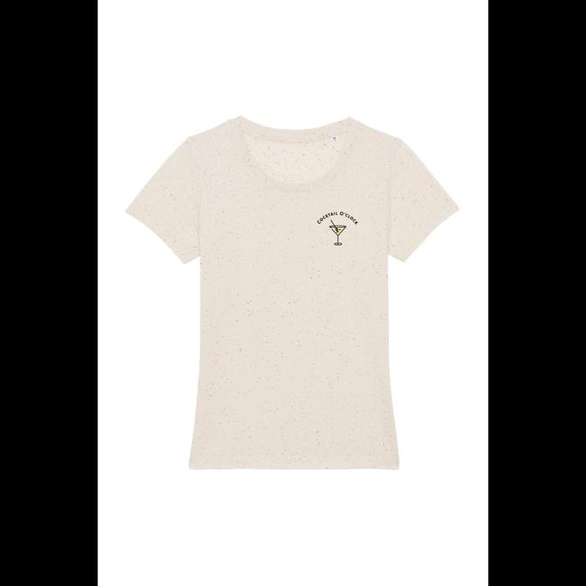 Cocktail O'clock chest - Women T Shirt Naturel RAW