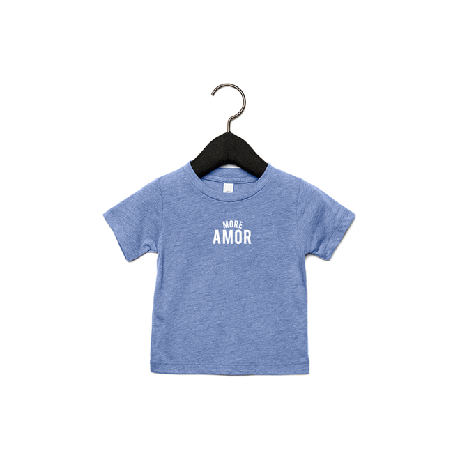 Joh Clothing - More amor (wit) - Baby's T shirt