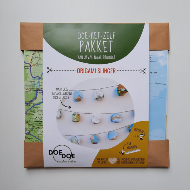 Doe-het-zelf pakket origamislingers