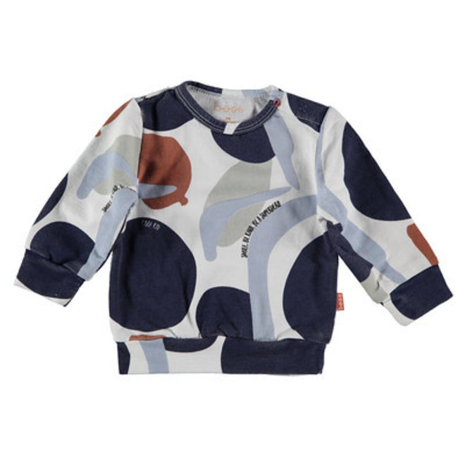 Bess: sweater AOP camouflage