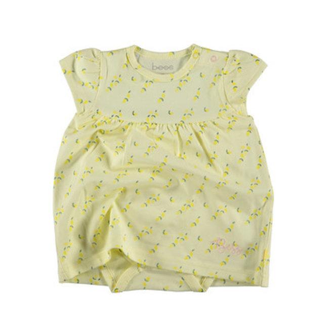 Bess: dress romper lemons