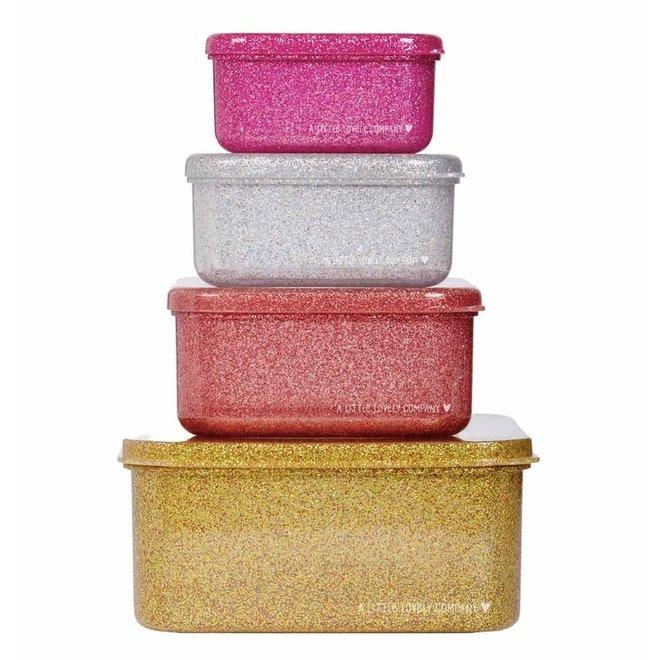LLC: Lunch and snackbox Gold blush