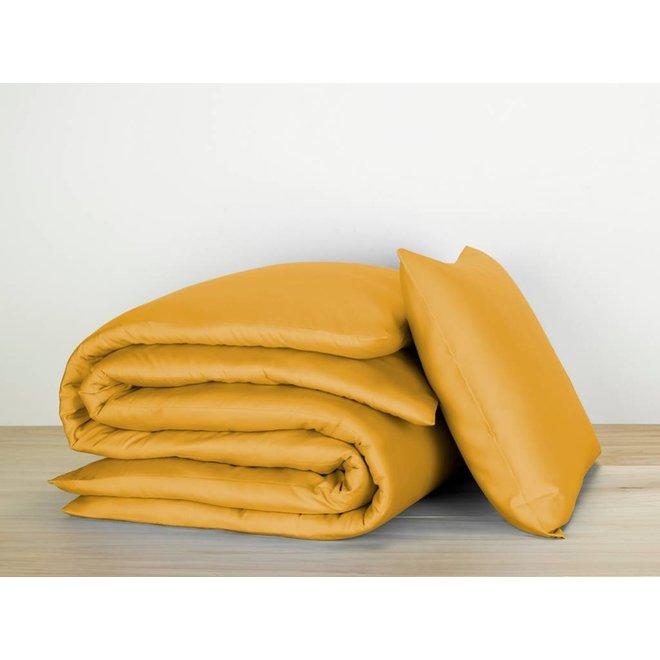 Olivia bedlinnen - golden yellow